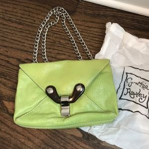 Cynthia Rowley green purse